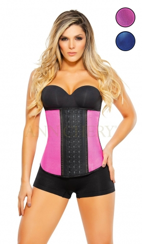 Designer Metallic Waist Trainer<br> Regular & Long Torsos