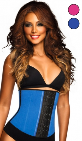 Ann Chery AC2023 Workout Latex Waist<br>Trainer Corset - 3 Hooks