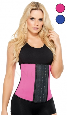 Ann Chery AC2023P 2023 Pink Waist Trainer for Weight Loss <br> 3 Hook - Long Torso
