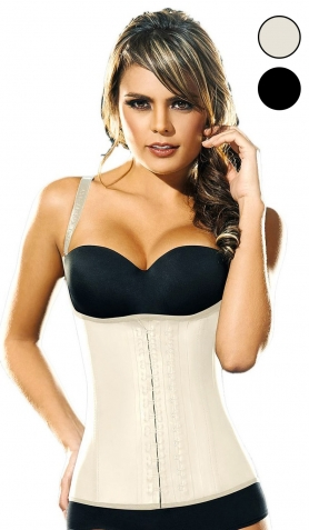 Ann Chery AC2028W Ann Chery Latex Waist Training Vest<br>with Adjustable Straps