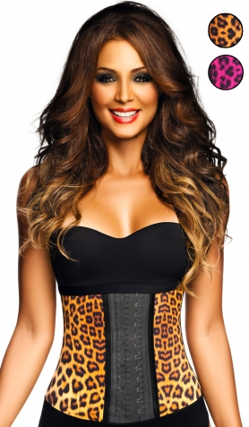 Ann Chery AC2024 Animal Print<br>Latex Waist Trainer