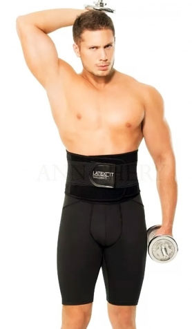 Men's Waist Trainer Sweat Belt