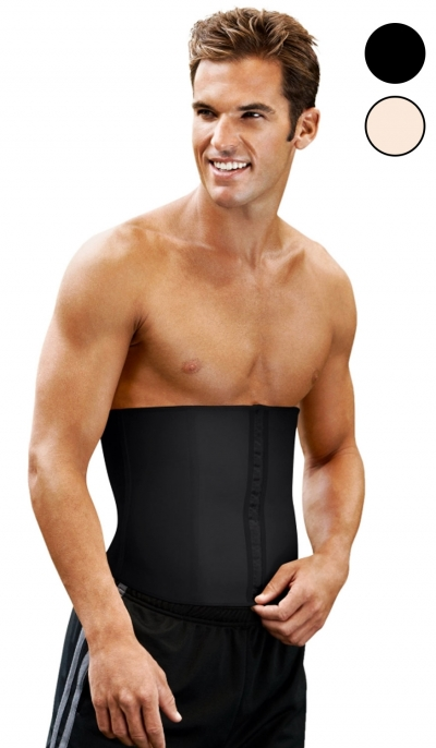 124bbf1c58c ES407 - Mens Waist Shaper Slimming Corset Belt - Plus Size
