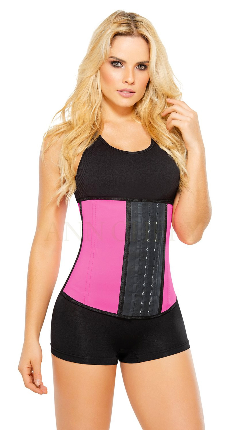 cfee02ba015 Ann Chery AC2023 - Workout Latex Waist Trainer Corset - 3 Hooks